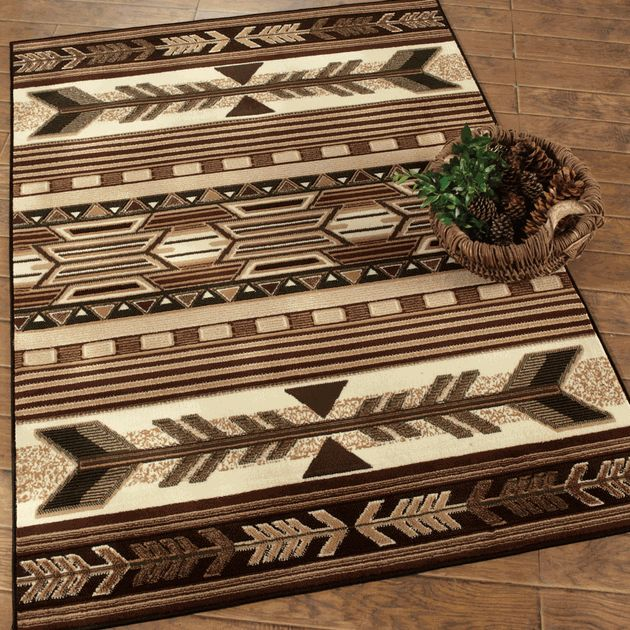 Southwest Rugs: Broken Arrow Southwestern Rug|Lone Star Western Decor
