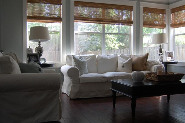 17 best images about white slipcovers no mud please on for Living room no sofa