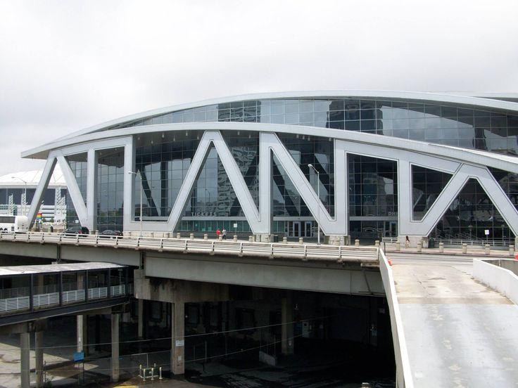 Philips Arena, Atlanta, GA. Current home to the Atlanta Hawks.