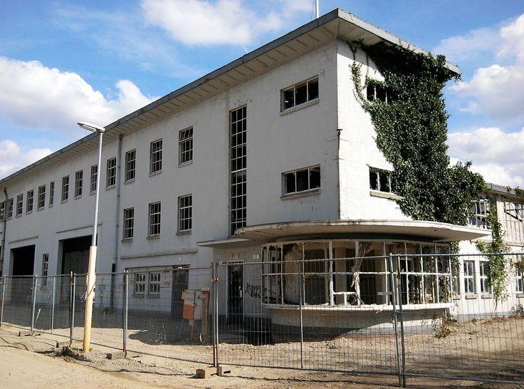Strijp R: Former building RF now 'City Ruïn', Zutphenstraat Eindhoven, Netherlands. April 3th, 2016
