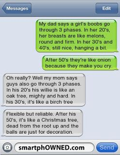 The Web Babbler: Funny Texts #90