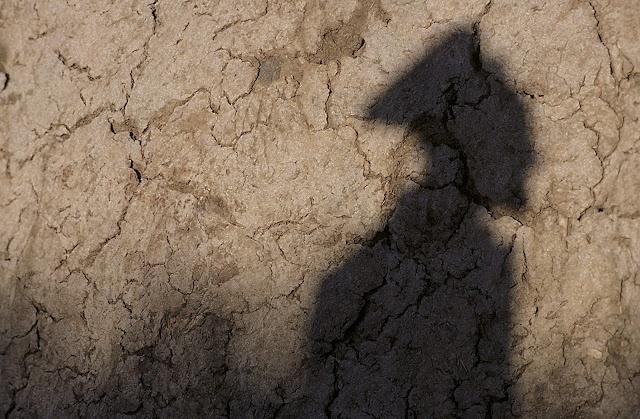Himba shadow - Kaokoland