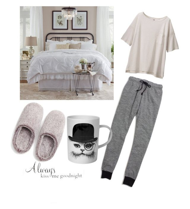 """""""set #18 (kiss me goodnight) by uberwine"""" by uberwine on Polyvore featuring Uniqlo, Natori, Madewell, Rory Dobner, women's clothing, women, female, woman, misses and juniors"""