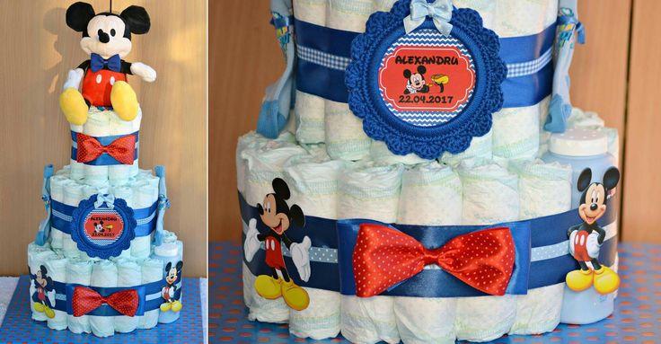 Tort scutece Mickey Mouse