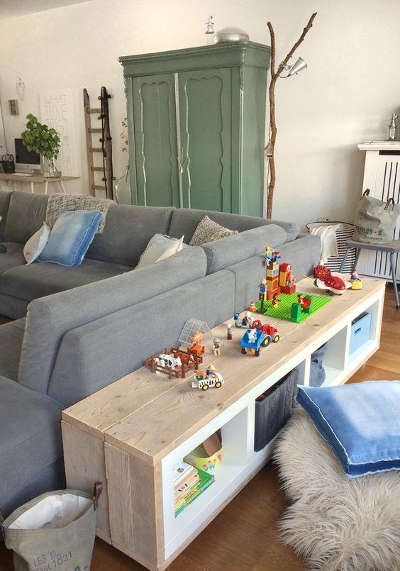 """15 großartige Ideen für die Verwendung der Regale von IKEA """"KALLAX""""! …"""