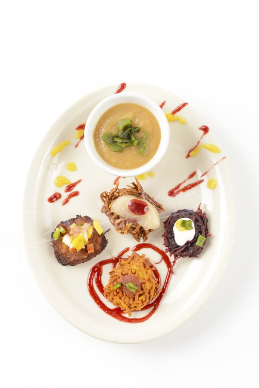 Dig in to a plateful of mouthwatering Mexican latkes