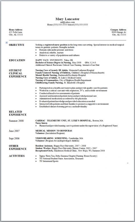 The 25+ best Registered nurse resume ideas on Pinterest Student - traditional resume template free