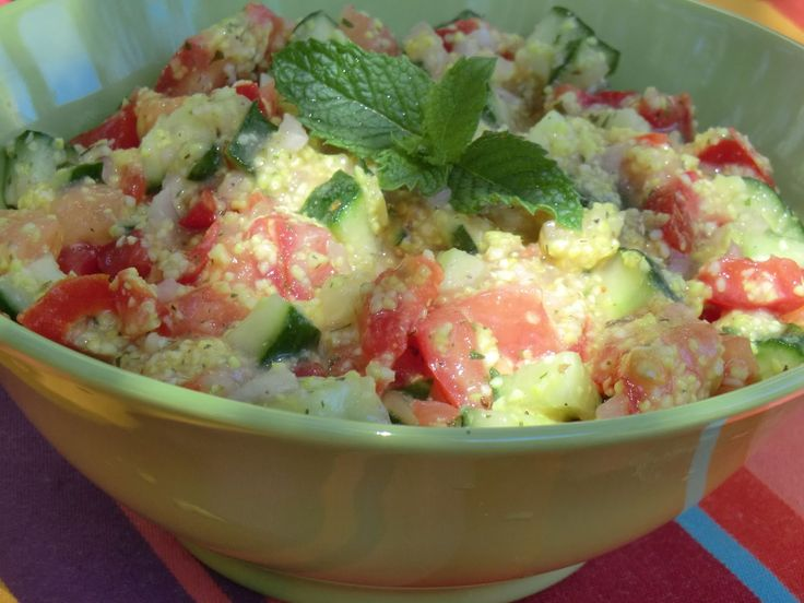 Ma petite cuisine gourmande sans gluten ni lactose: Taboulé au millet naturellement sans gluten...