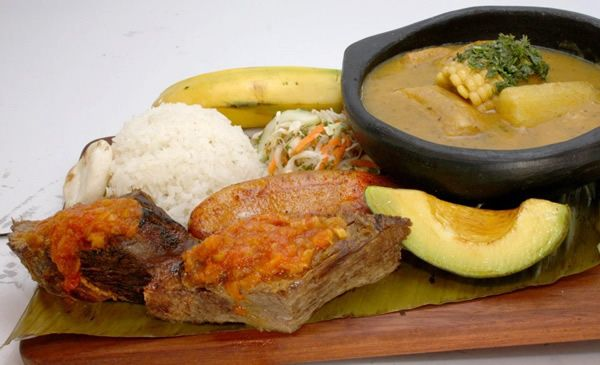 La Barra Restaurante Sancocho de Pecho #Cali #Colombia