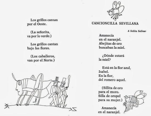 Más poemas de Lorca para niños