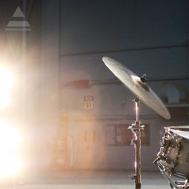 From the set of the next MARS Film: Shannon's Drums