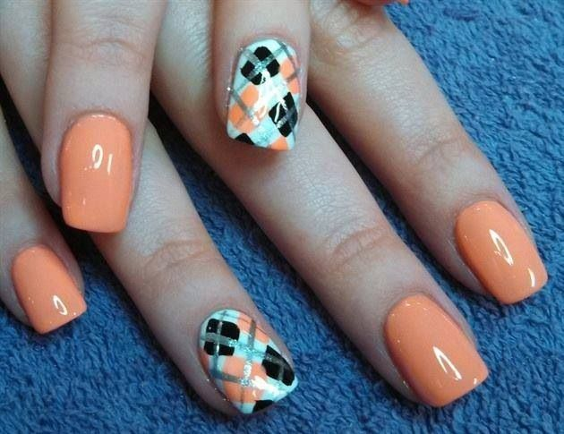 Nails Art: 17 Best Ideas About Argyle Nails On Pinterest