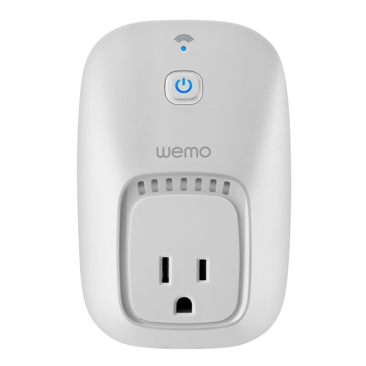WeMo Switch, Wi-Fi Enabled, Control your Electronics from anywhere, Compatible with Amazon Echo