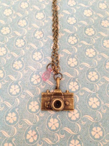 retro vintgae style camera chain - Lolalolalola