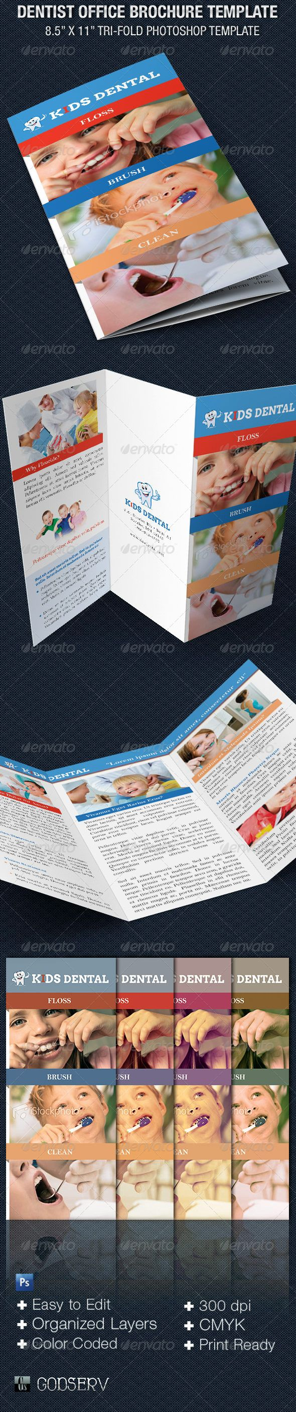 best images about print templates fonts flyer dentist office tri fold brochure template