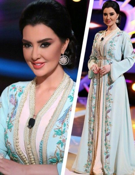 Selma Benomar ميساء مغربي في تصميم من