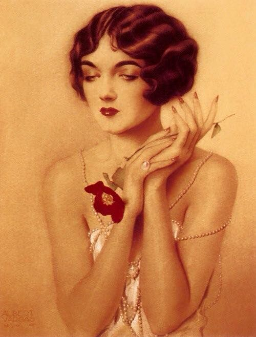 Kittyinva: 1920′s Alberto Vargas beauty.