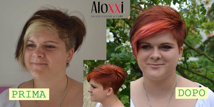 """Con i Colori Personalità AloXXi i risultati si vedono e si sentono sui capelli! Perchè sono coprenti al 100%, ricchi di estratti naturali, a lunghissima durata e luminosi come non avete mai visto. Con AloXXi il colore non è più un """"dovere"""", è il piacere di indossare la tua Personalità!"""