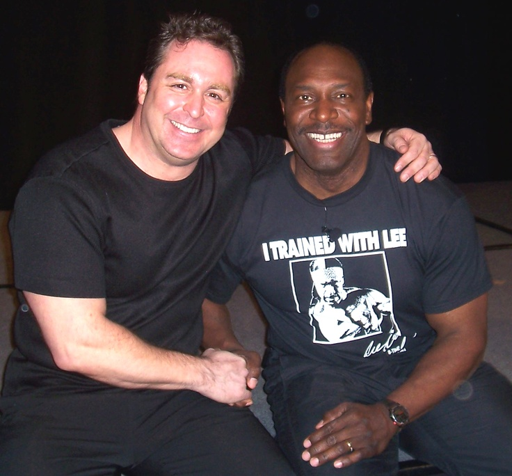 Me and my buddy Lee Haney, 8 time Mr. Olympia