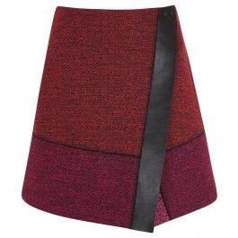 PROENZA SCHOULER Asymmetric tweed skirt HARVEY NICHOLS