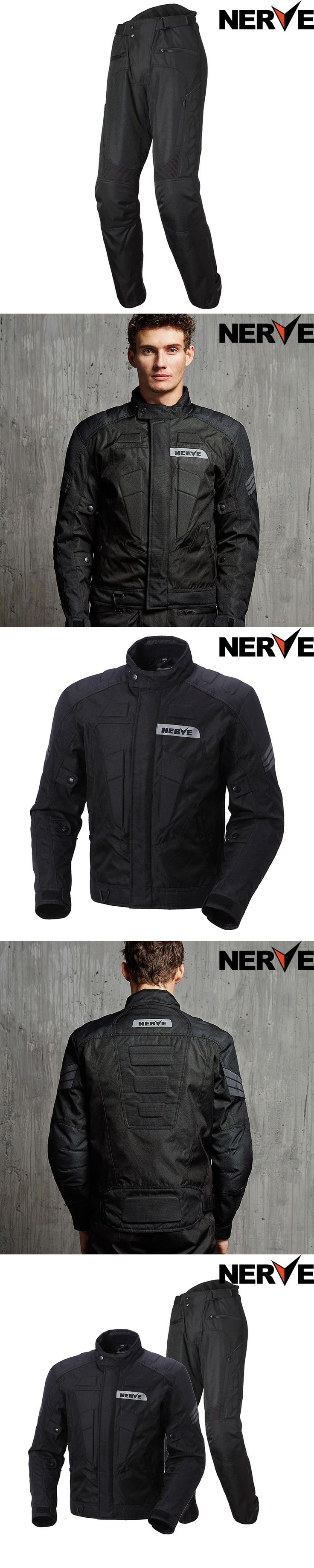 NERVE Motocross Riding Equipment Gear  Moto Jacket Summer mesh Men's Oxford Cloth Street Bike Racing Motorcycle Jacket, protect