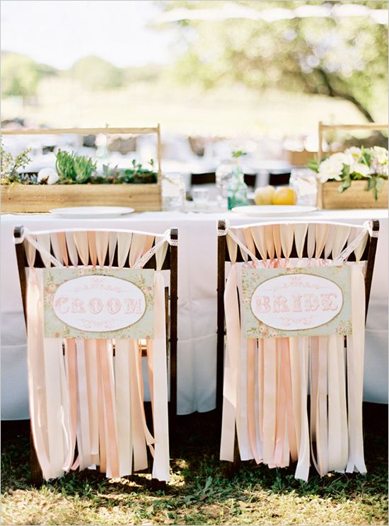 Wedding Chicks Printable for sweetheart table at wedding reception