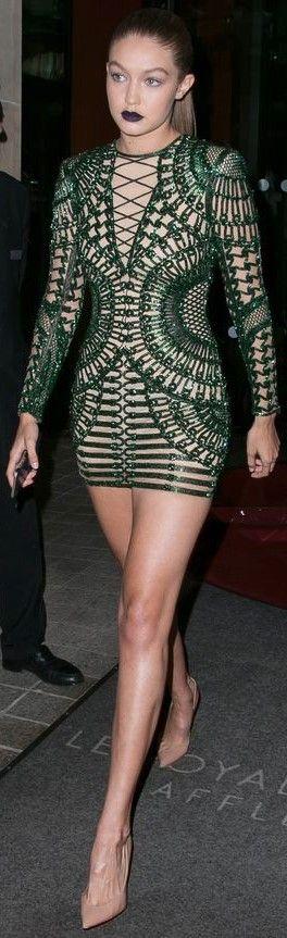 Gigi Hadid wowed at Balmain designer Olivier Rousteing's dinner l Ria