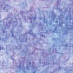 R Kauf Artisan Batiks Lafayette Dotted Tile Iris   On Hancocks of Paducah