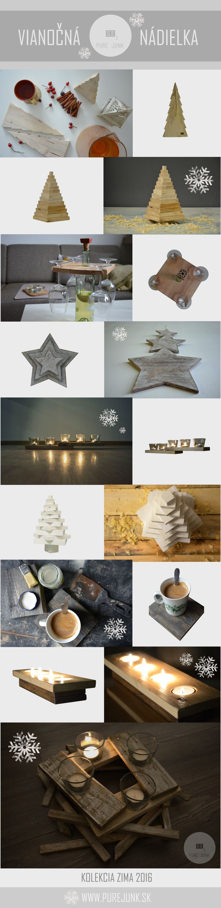HANDMADE CHRISTMAS DECORATIONS.