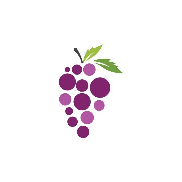 العنب رمز مكافحة ناقلات التوضيح التصميم Vector Icons Illustration Box Frame Art Fruit Wallpaper