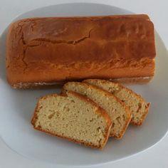 Pão sem glúten com farinha de arroz