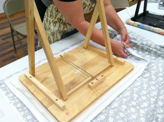 Diary of a Quilter - a quilt blog: Portable Ironing Table and summer sewing