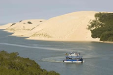 Sundays River Cruise  Cruise in leisure along the Sundays River, spotting birds and local wildlife, before disembarking and tackling some of the dunes forming part of the largest coastal dune field in the Southern Hemisphere.