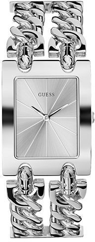 GUESS Ladies' Brilliance On Links Silver-Tone Watch on shopstyle.com