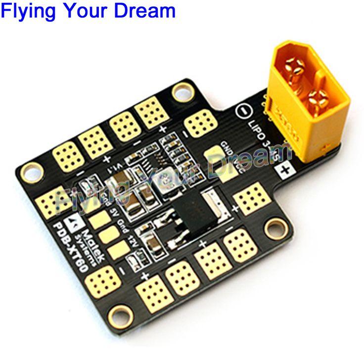 MATEK Mini Power Hub PDB XT60 Power Distribution Board PDB-XT60 with BEC 5V/12V for FPV drone Quadcopter  QAV210 QAV180 //Price: $9.46 & FREE Shipping //     #RCQuadcopter