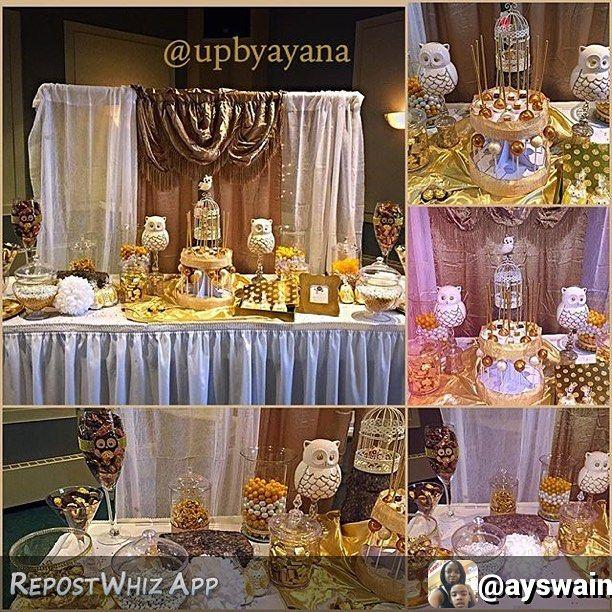 By @ayswain via @RepostWhiz app: #owlthemed #babyshower #white #gold #brown #candytable #tablesetup #mompreneur #entrepreneur #smallbusiness #detroit #upbyayana @upbyayana (#RepostWhiz app)