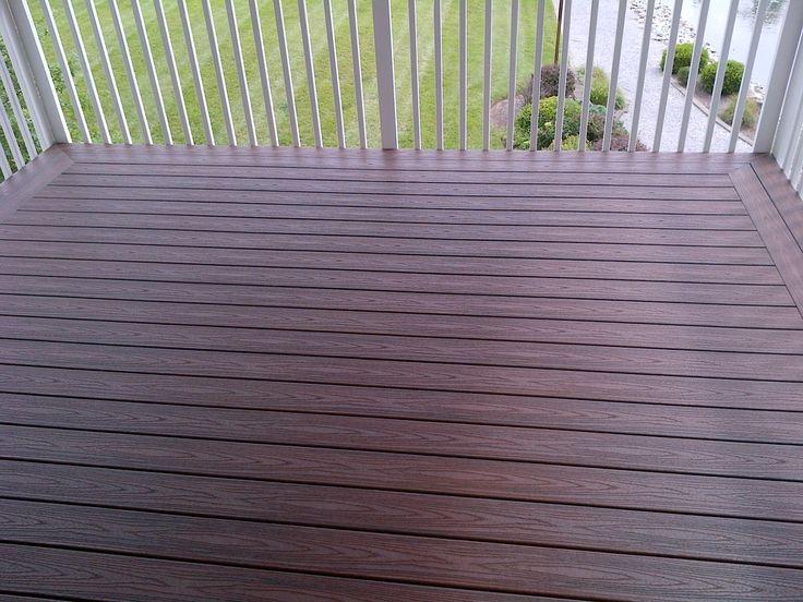 20 best images about deck ideas on pinterest decking for White composite decking