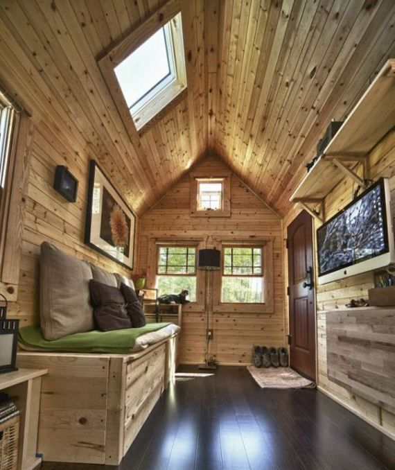 Interior Tiny-house-on-wheels