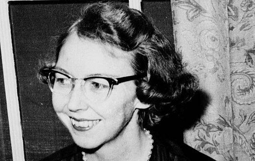 Flannery O'ConnorAuthor, Fascinators Quotes, Favorite Writers, Flannery Oconnor, Southern Gothic, O' Connor Reading, Writing, Writers Reading, Flannery O' Connor