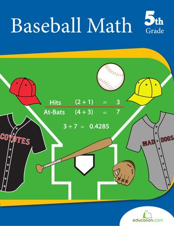 Baseball Math - perfect math practice for this time of year!