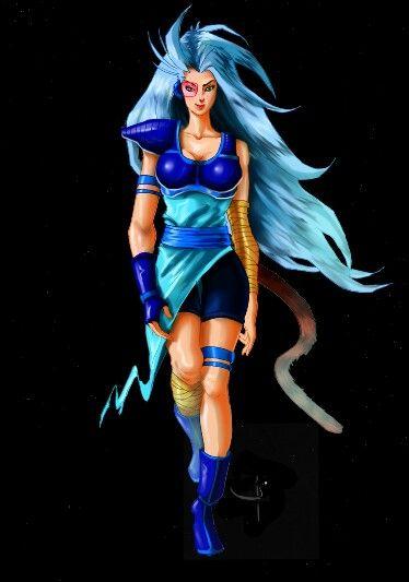 Naruto Girl Wallpaper Hd Female Saiyan Concept Costumes Cosplay Anime Fantasy