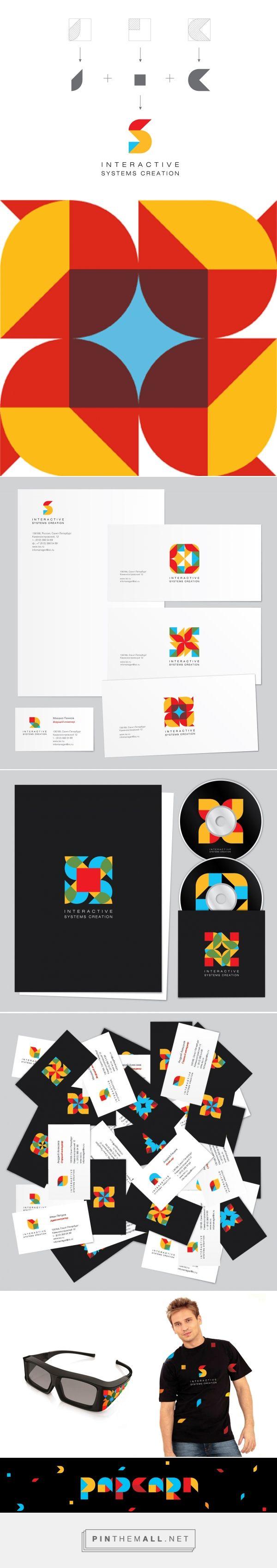 WeDesign: Фирменный стиль – ISC - created via http://pinthemall.net