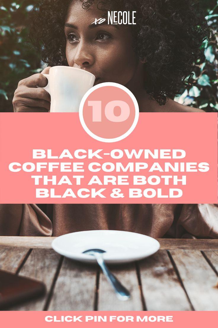 black owned coffee companies