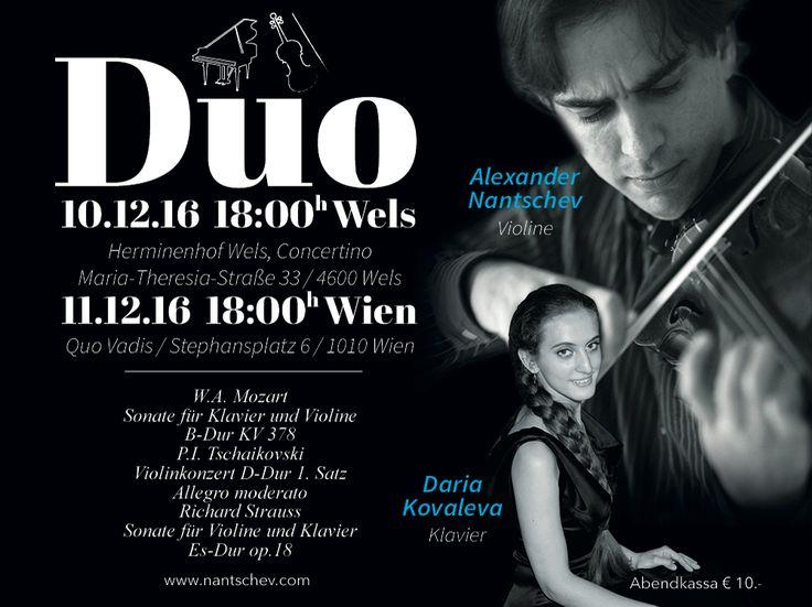 Konzerte Wels und Wien