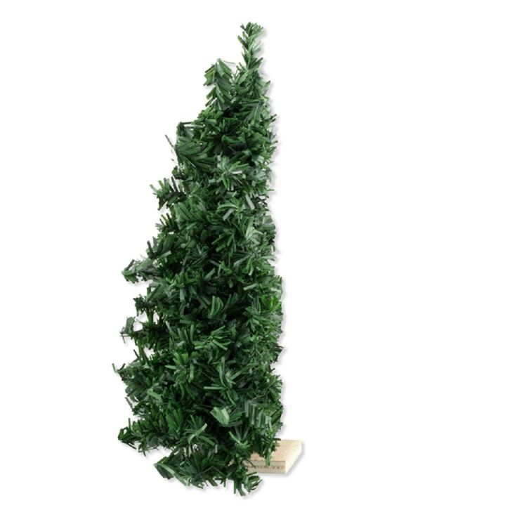 "Dollhouse Miniature Half Christmas Tree, 7"", Undecorated #DHS4852"