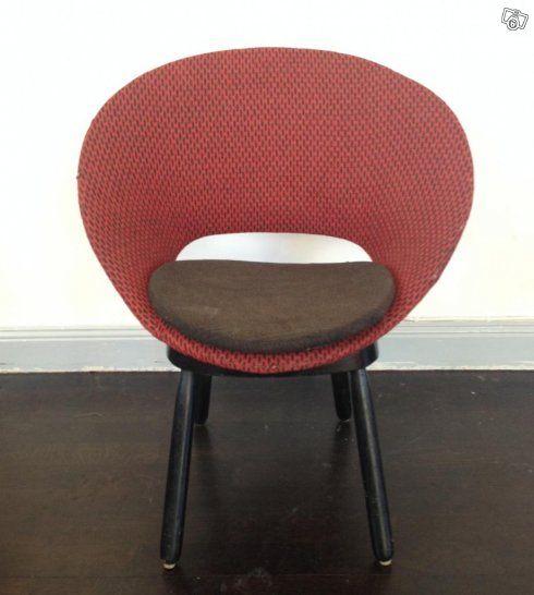 Jättefin stol/nätt fåtölj. 50-, 60-talet