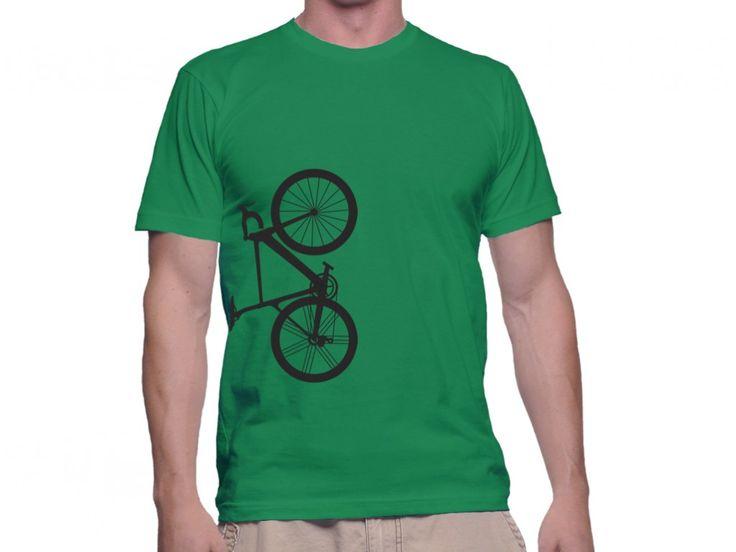 Tricou Capital T Cursiera Vertical Irish Green