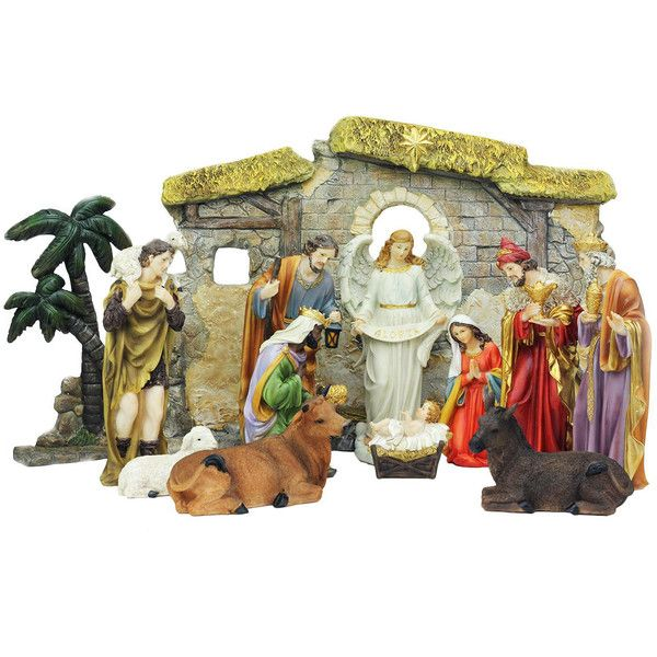 Best 25+ Christmas Nativity Set Ideas On Pinterest