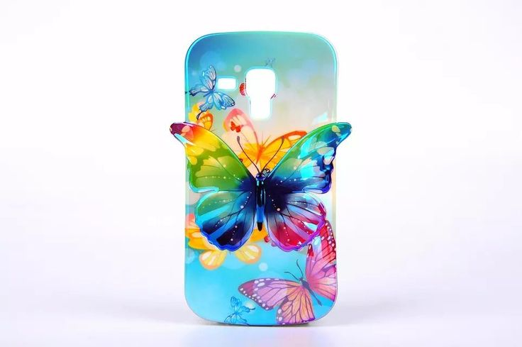 >> Click to Buy << For Samsung Galaxy S Duos S7562 S7582 S7560 Phone Cases, Blue-ray 3D Nice Butterfly IMD TPU Soft Cover for S7562  #Affiliate