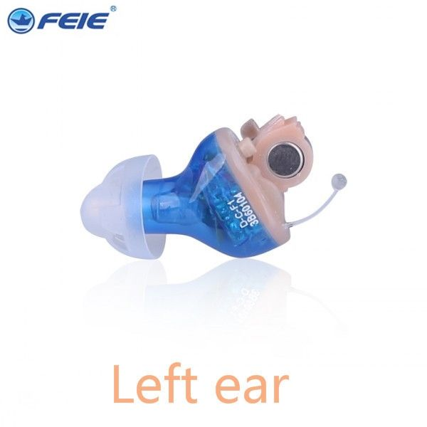 427.50$  Buy here - http://ali8oh.worldwells.pw/go.php?t=32700318238 - FEIE mini cic hearing machine clean S-17A audifonos para sordos digitales ear machine for deaf free shipping